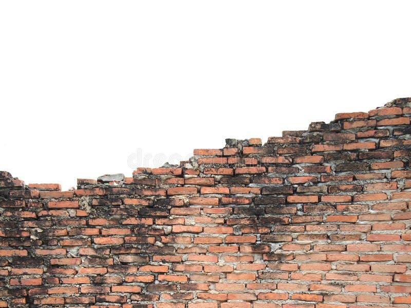 Las paredes viejas son agrietadas foto de archivo libre de regalías
