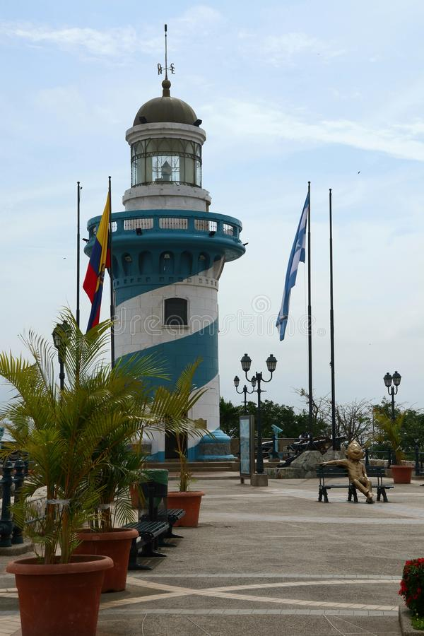 Las Penas Guayaquil Ekwador obraz stock