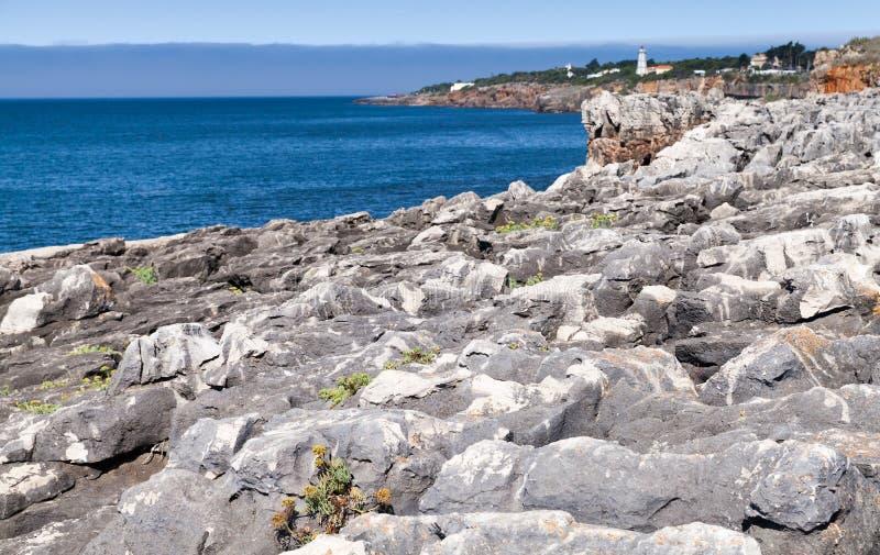 Las piedras de Boca hacen el abismo del infierno portugal fotos de archivo