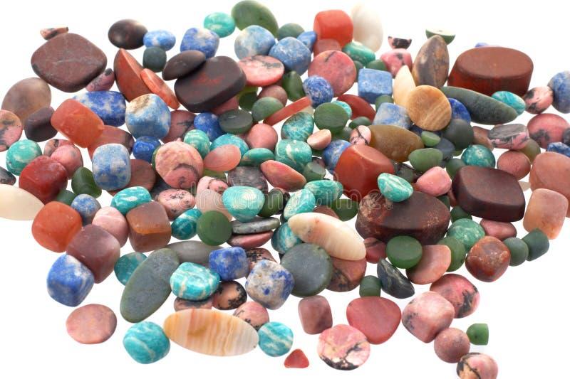 Las piedras semipreciosas foto de archivo libre de regalías