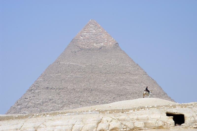 Las pirámides fotos de archivo