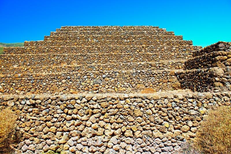 Las pirámides de Gyumar fotografía de archivo libre de regalías