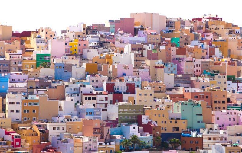 Las Plamas de Gran Canaria, Ciudad Alta стоковая фотография rf