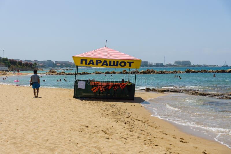Las playas en la costa costa foto de archivo libre de regalías