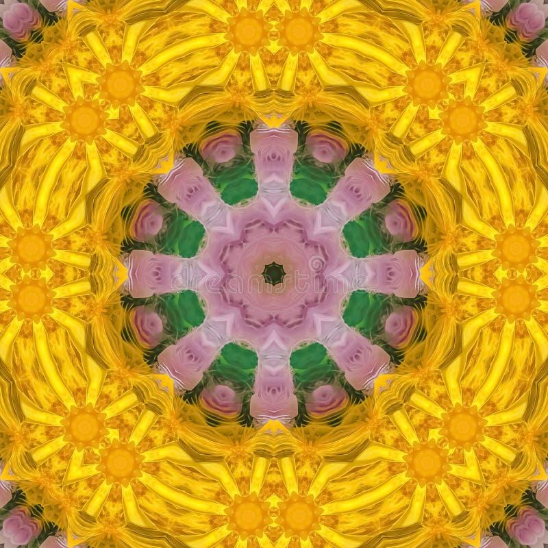 Las plumas cuadradas hicieron en una forma del círculo con los puntos foto de archivo libre de regalías