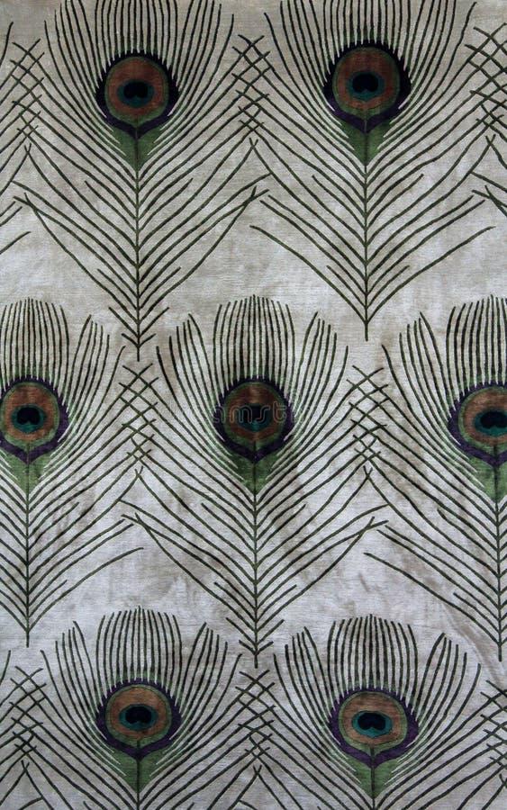 Las plumas del pavo real foto de archivo
