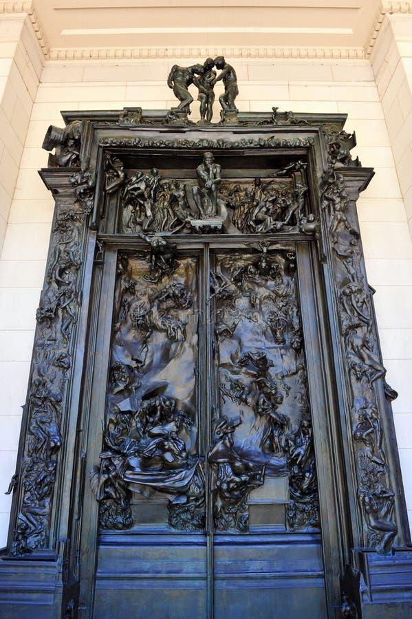 Las puertas del infierno fotos de archivo libres de regalías