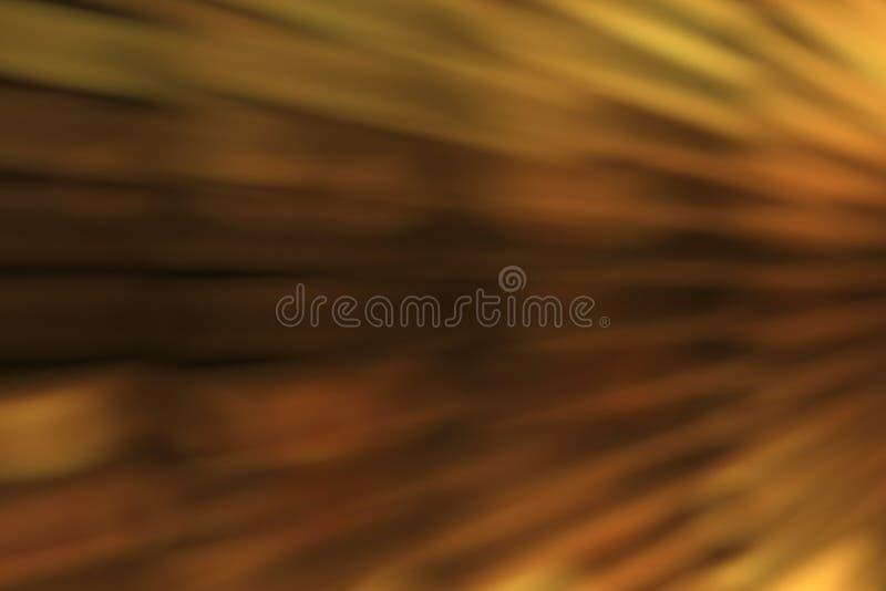 Las pulsaciones de luz de oro abstractas y brillan intensamente fondo del movimiento del efecto de los escapes de las luces foto de archivo