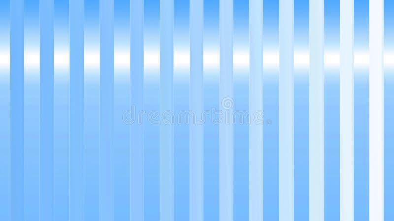Las rayas azules de la vertical brillante abstracta texturizan para el fondo stock de ilustración