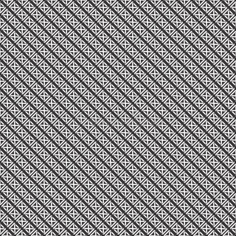 Las rayas del vector de la línea diseñan el modelo diagonal inconsútil libre illustration