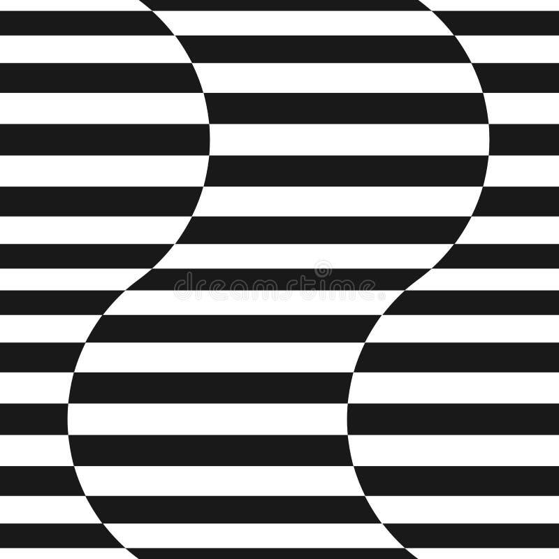 Las rayas Vector el modelo inconsútil Líneas onduladas textura libre illustration