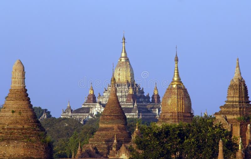 Las ruinas de Bagan (Pagan) fotos de archivo libres de regalías