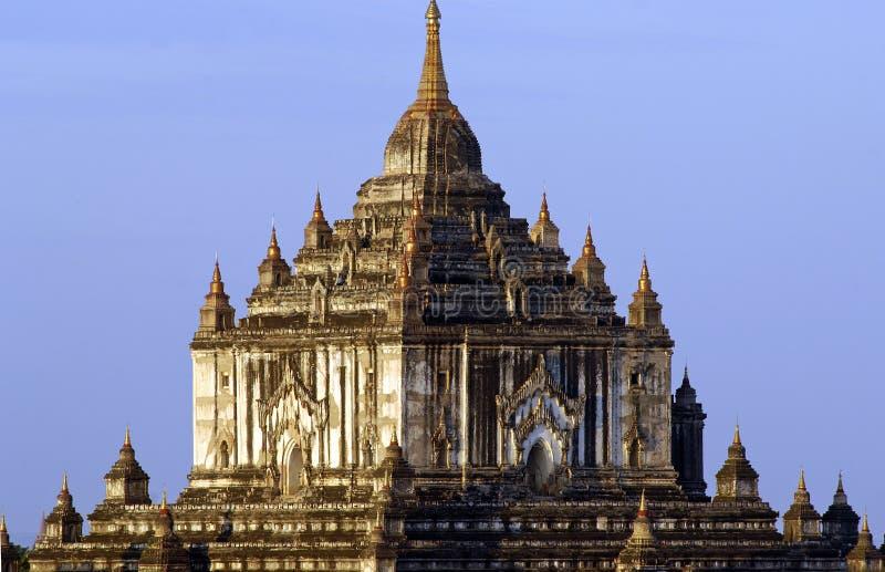 Las ruinas de Bagan (Pagan) foto de archivo