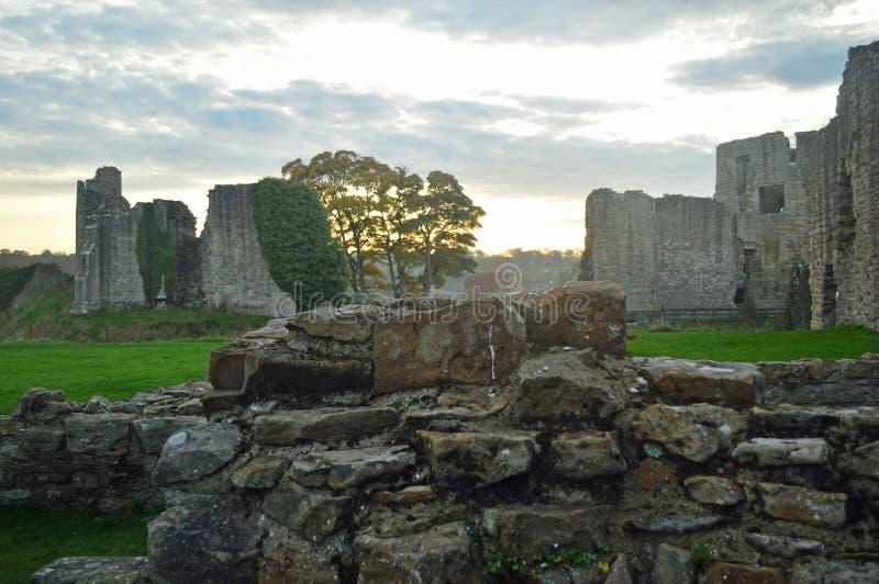 Las ruinas de Barnard Castle fotografía de archivo