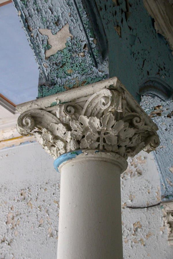 Las ruinas de Beelitz-Heilstätten perdieron el lugar Berlin Brandenburg fotografía de archivo