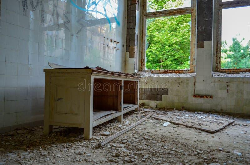 Las ruinas de Beelitz-Heilstätten perdieron el lugar Berlin Brandenburg imagen de archivo