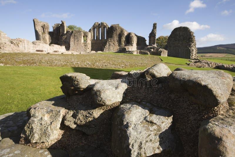 Las ruinas de Kildrummy se escudan, Escocia imágenes de archivo libres de regalías