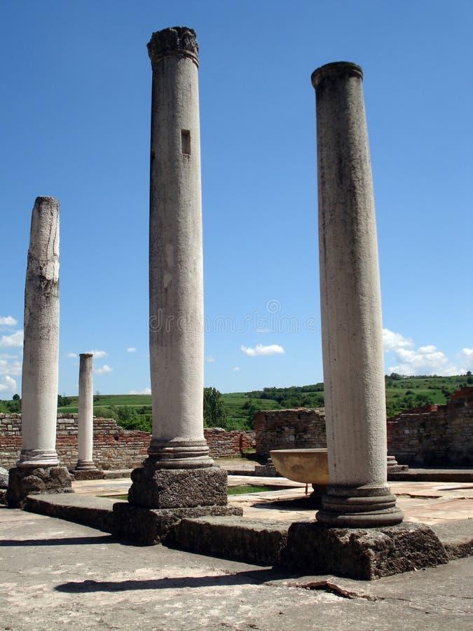 Las ruinas romanas imagen de archivo