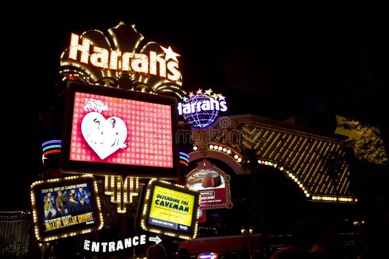 Las 's nachts Vegas royalty-vrije stock afbeeldingen