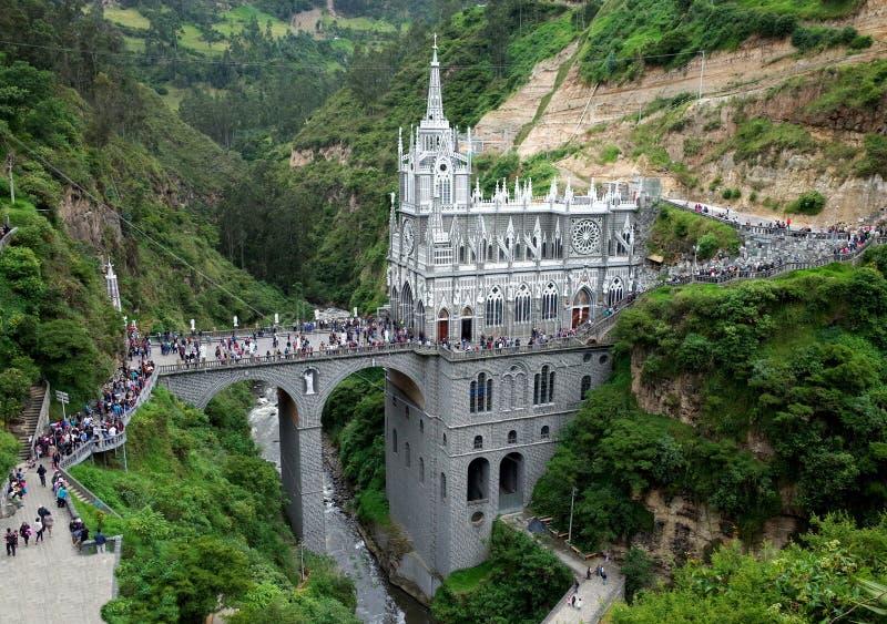 Las Sanktuarium Lajas fotografia stock