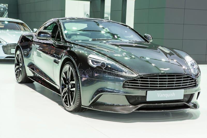 Las series negras de Aston Martin vencen imagen de archivo libre de regalías