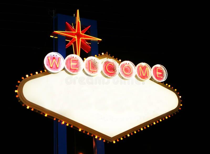 Las Sign Vegas Στοκ Φωτογραφίες