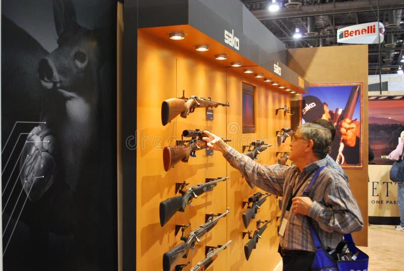 las skjuten show vegas fotografering för bildbyråer