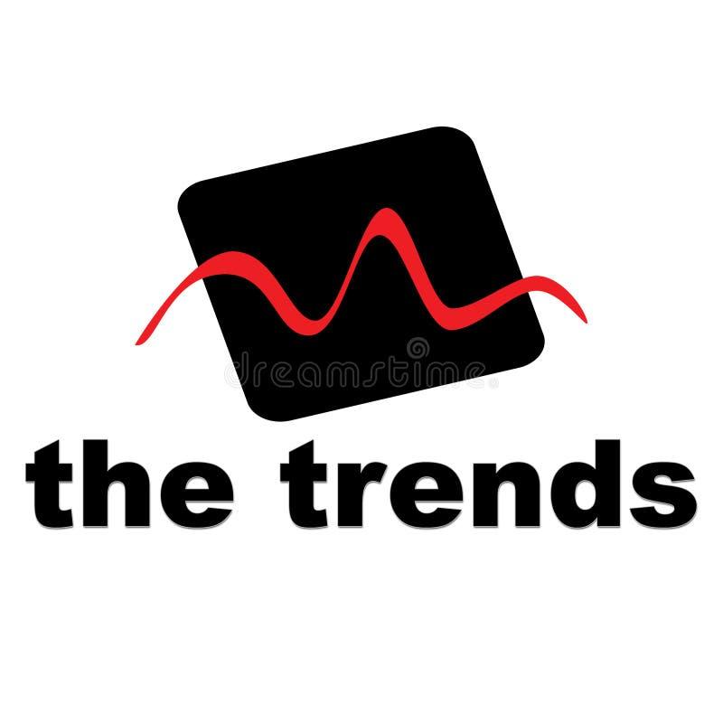 Las tendencias ilustración del vector