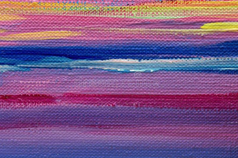 Las texturas del extracto de la pintura del arte engrasan el papel pintado de las pinturas acrílicas imagenes de archivo