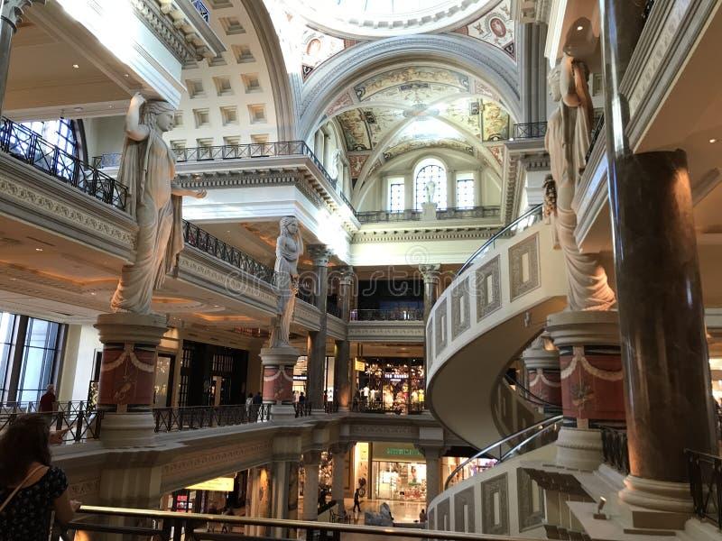 Las tiendas del foro en Caesars foto de archivo libre de regalías