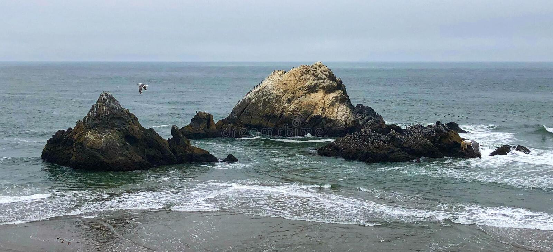 Las tierras terminan Parkin nacional San Francisco fotos de archivo libres de regalías