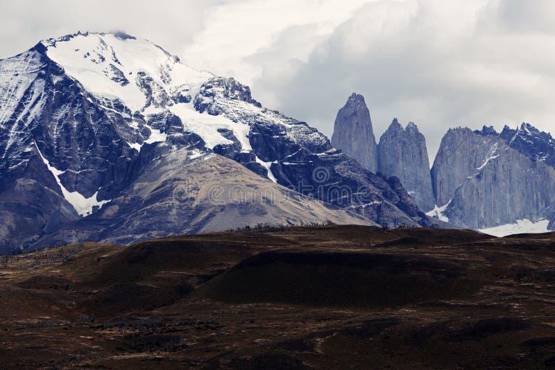 Las Torres image stock