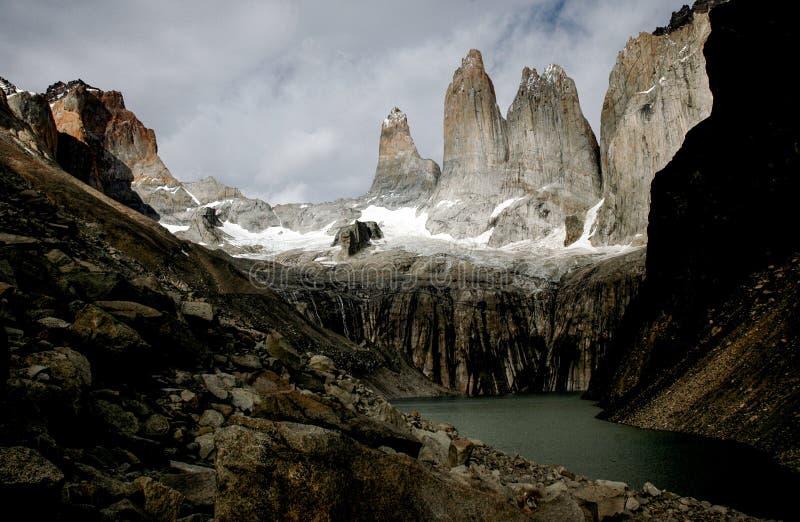 Las Torres photos stock