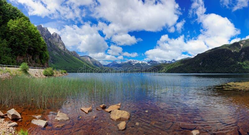Las Torres, Chili, Amérique du Sud de Lago photo stock