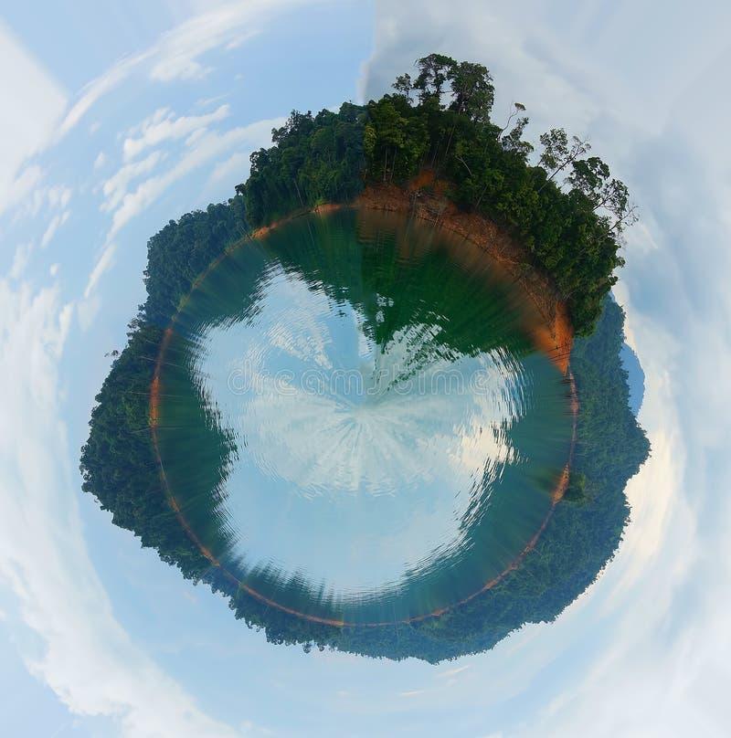 Las tropikalny w małym świacie obraz royalty free