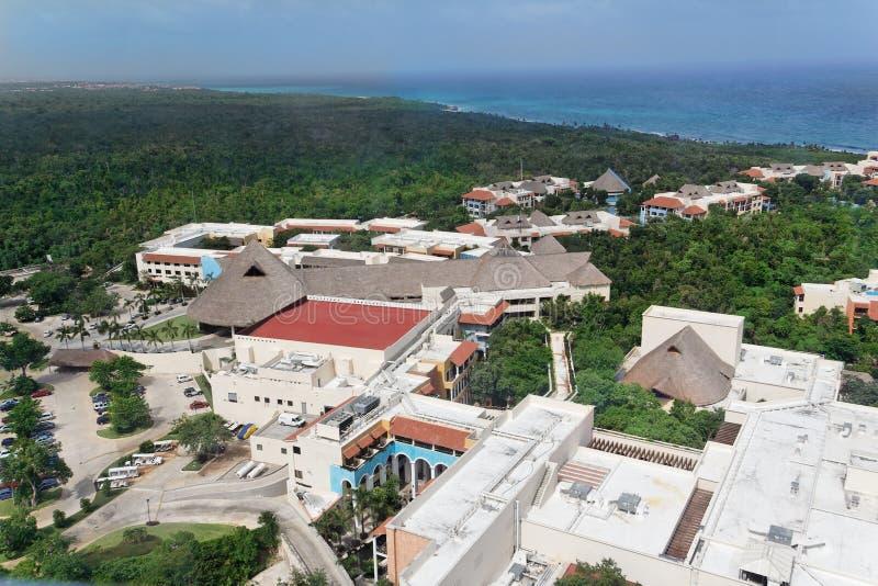 las tropikalny Yucatan fotografia royalty free