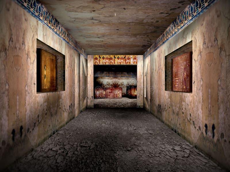 Las tumbas de Eygpt 1 fotos de archivo libres de regalías