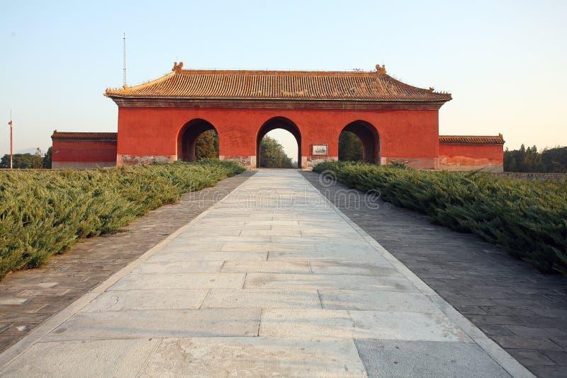 Las tumbas de Ming imagen de archivo