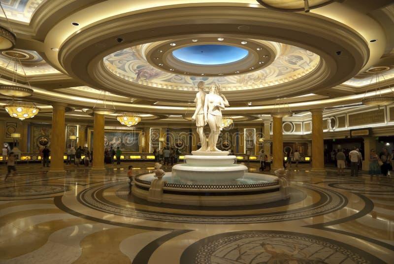 LAS VEGAS - 25 SETTEMBRE: Ricezione del Caesars Palace fotografie stock libere da diritti
