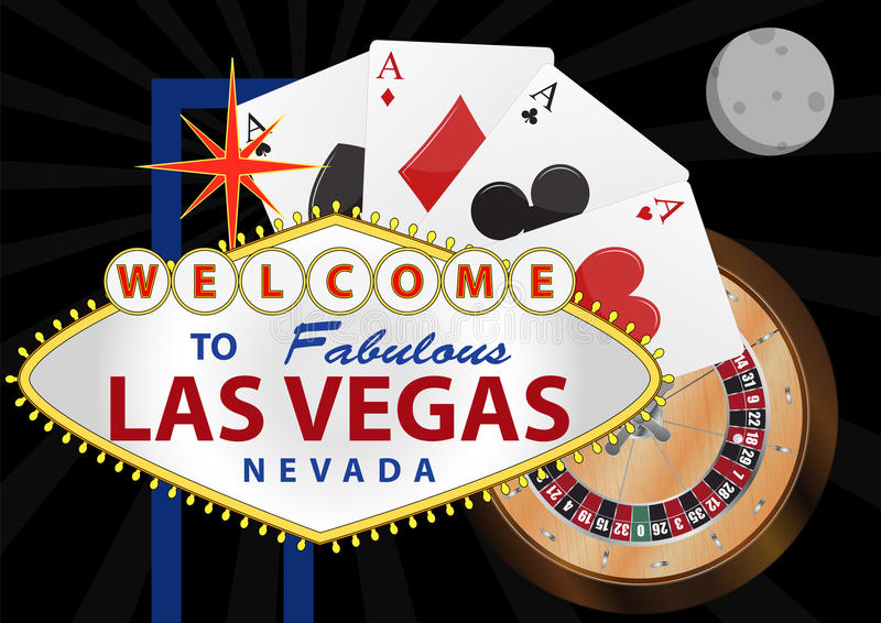 Las Vegas illustrazione di stock