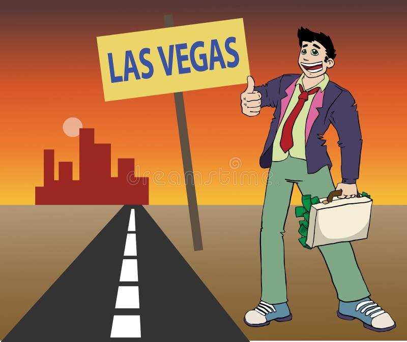 Las Vegas vector illustratie