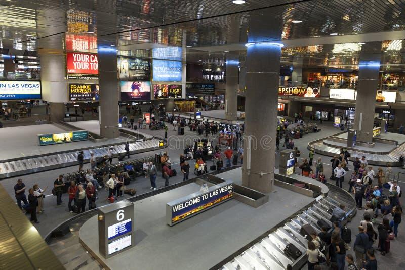 McCarran internationaler Flughafen in Las Vegas, Nanovolt auf Apri 01, 2013 stockbilder