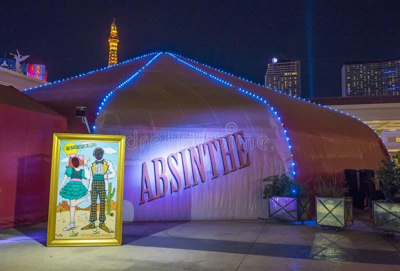 Las Vegas, assenzio immagini stock