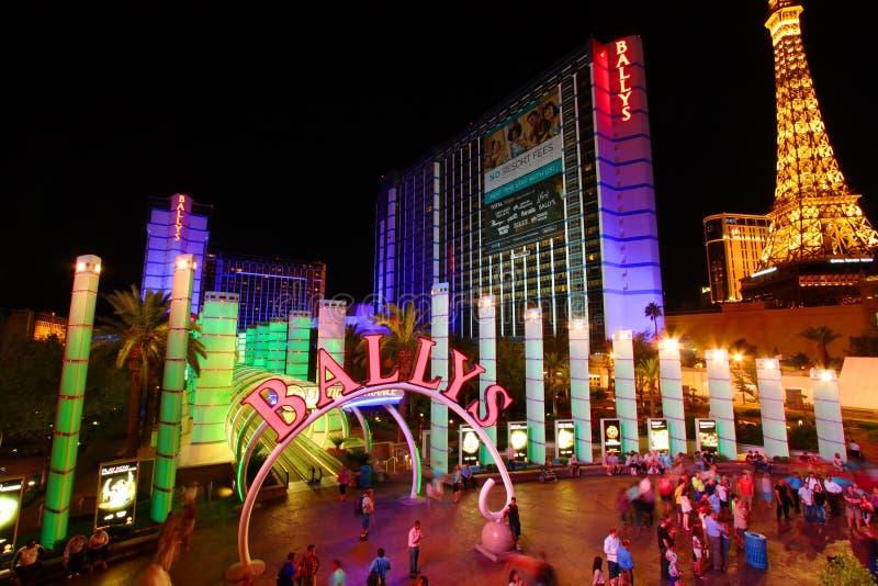 Las Vegas Bally imagen de archivo libre de regalías