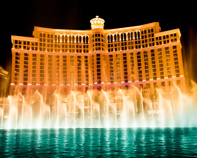 Las Vegas Bellagio royalty free stock photo