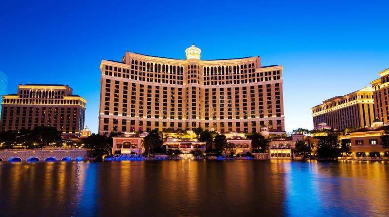Las Vegas Bellagio hotel fotografia royalty free