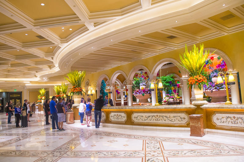 Las Vegas , Bellagio Editorial Stock Image