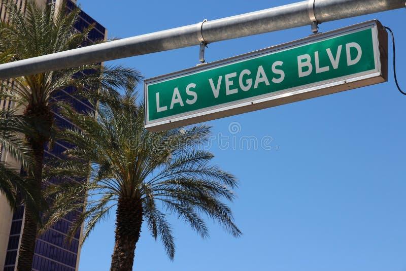Las Vegas Blvd stockbild