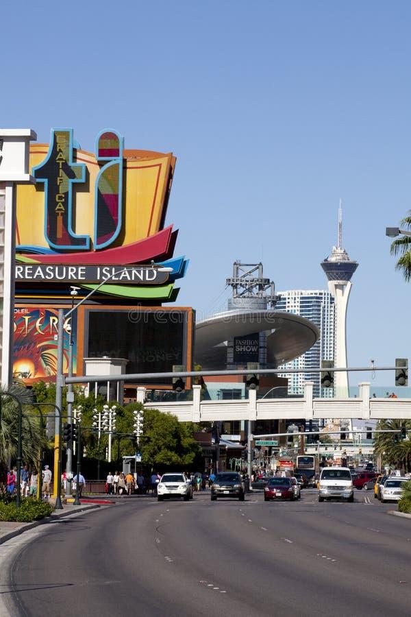 Las Vegas Blvd stockfoto