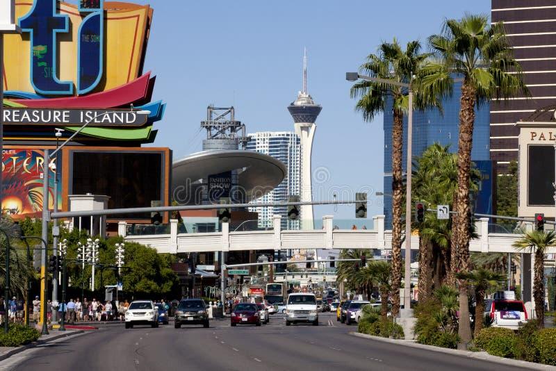 Las Vegas Blvd fotos de archivo libres de regalías